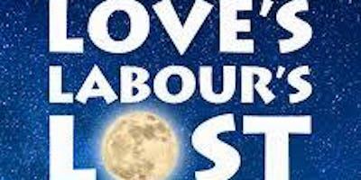 Love's Labour's Lost: A New Musical - Saturday (5/18/19) 7:00 pm