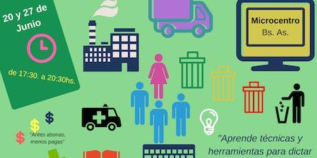 Taller de Diseño de Capacitaciones para Higiene & Seguridad y Medio Ambiente. entradas
