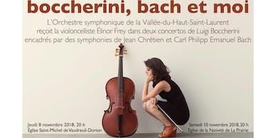 Boccherini, Bach et moi