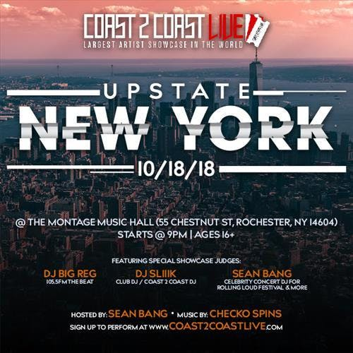 Coast 2 Coast LIVE | Upstate NYC Edition 10/1