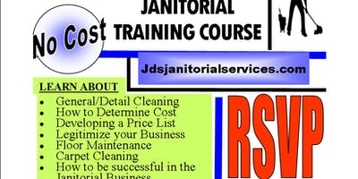 *NO COST*  6 WEEK / JANITORIAL TRAINING COURSE (THURSDAY\