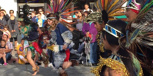 Aztec Dancing with Calpulli Itzpapalotl Danza Azteca (all ages)