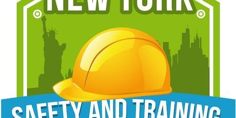 Bronx OSHA 30 (in English) Construction Safety - $399 tickets
