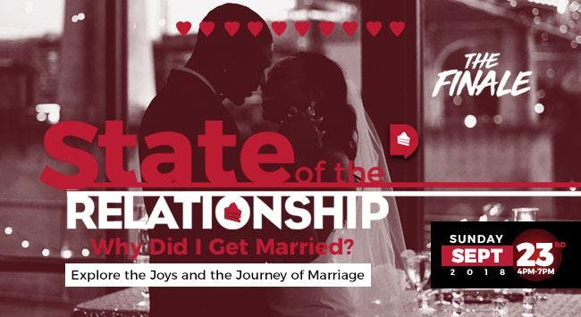 """""""Why Did I get Married"""" - The State of the Re"""