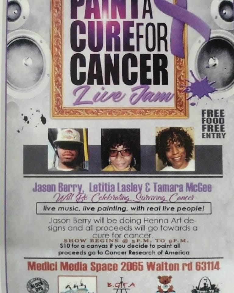 Paint A Cure For Cancer LIVE JAM