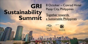 GRI Sustainability Summit: Together towards a...
