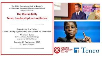 The Annual Declan Kelly Teneo Leadership Lecture
