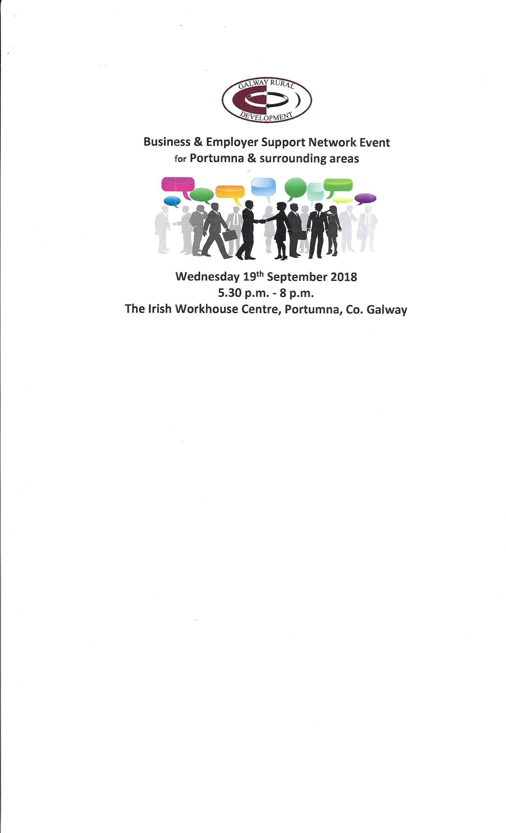 Business & Employer Support Network Events