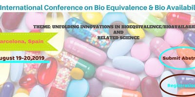 2nd International conference on Bio Equivalence & Bio Availability-2019