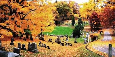 Halloween Hikyoga® at Mount Hope Cemetery