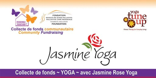 MSPVS Collecte de fonds YOGA VSPCR / COMMUNITY EVENT avec Jasmine Rose