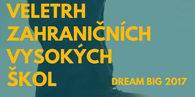 Veletrh zahraničních vysokých škol - Dream Big Ostrava - 3. 11. 2018