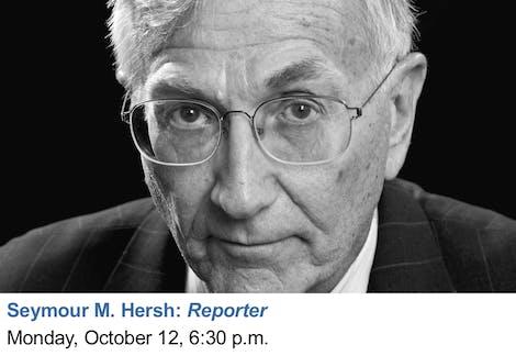 Seymour M Hersh Reporter 12 Oct 2018