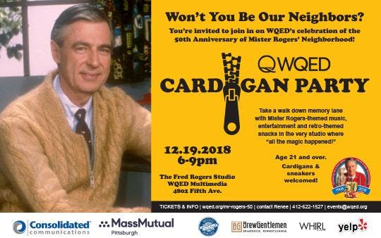 WQED Cardigan Party