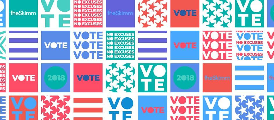 Sip 'n Skimm the Vote
