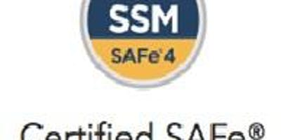SAFe 4.5 Scrum Master Certification