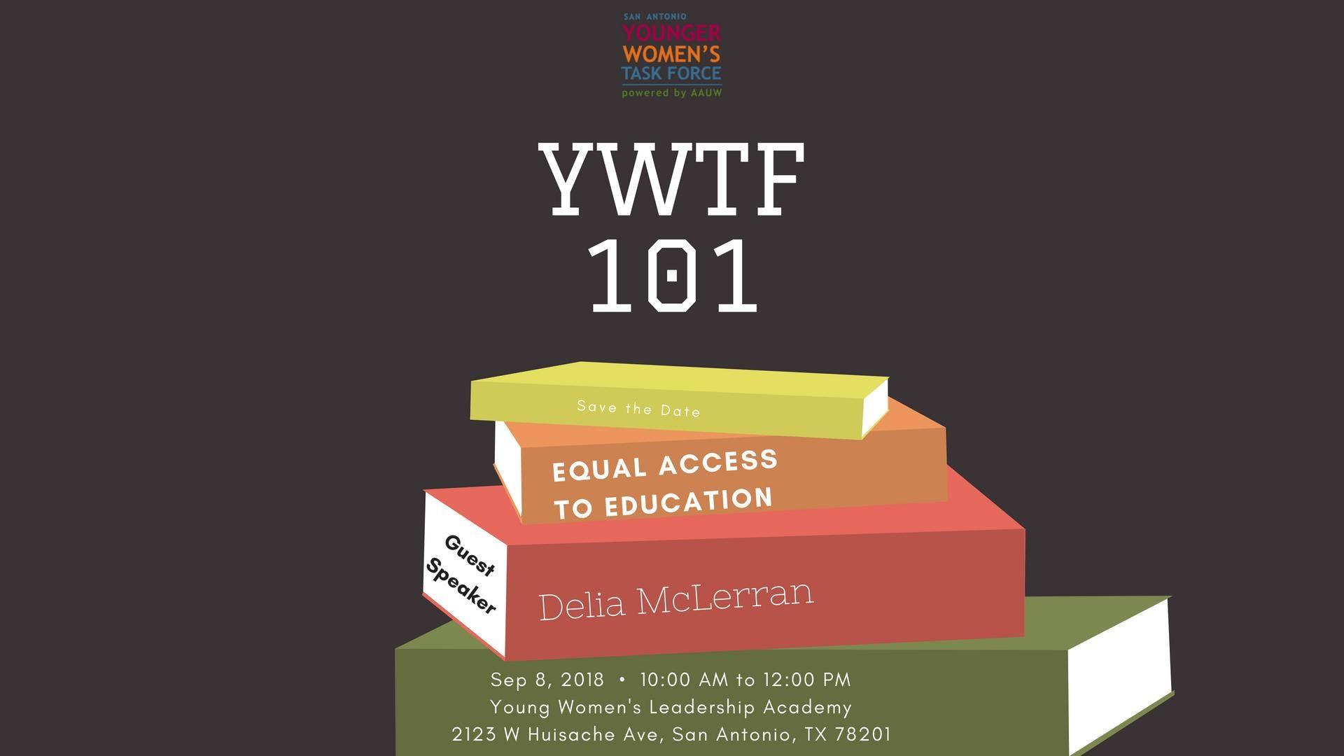 Ywtf 101 8 Sep 2018