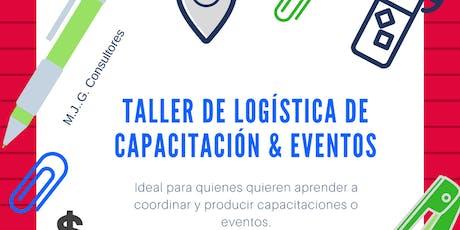 Taller de Logística de Capacitación - XXL entradas
