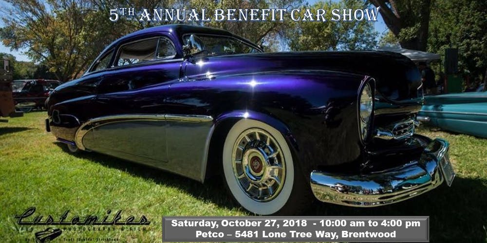 Hot Rods Paws VENDOR Tickets Sat Oct At AM - Pittsburg ca car show
