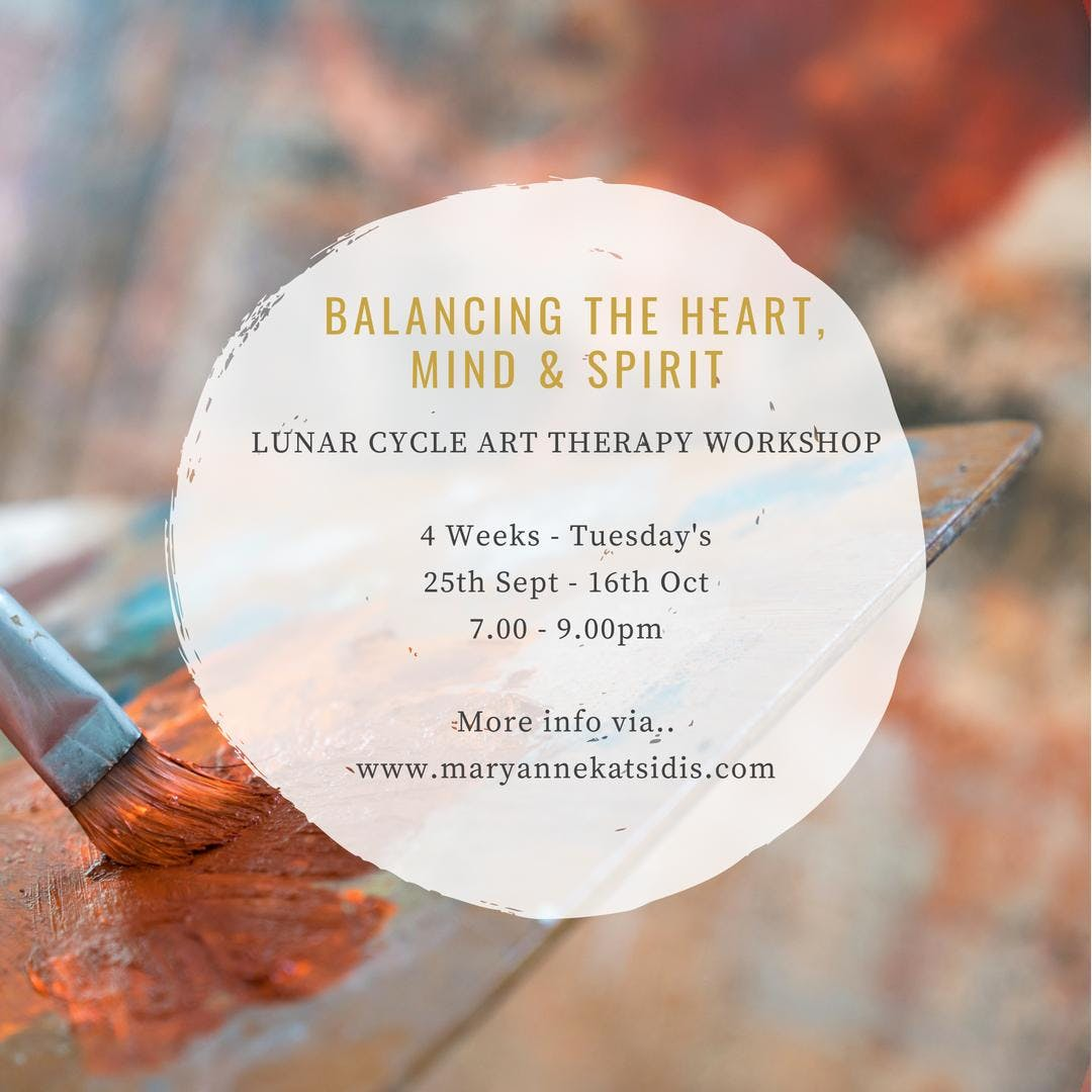 Balancing The Heart Mind Spirit Lunar Cycle Art Therapy