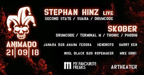 ANIMADO XL w/STEPHAN HINZ live & SKOBER