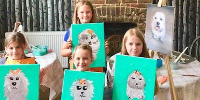 Children's Art Class. Maidstone