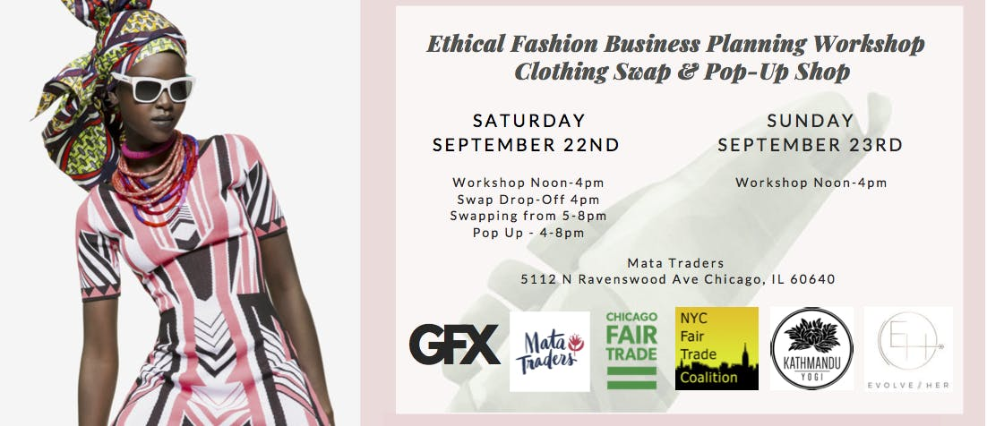 Clothing Swap + Pop-up Shop: Chicago Edition - 22 SEP 2018