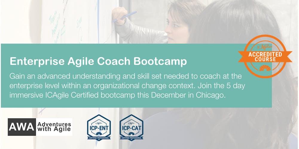 Enterprise Agile Coach Bootcamp Chicago December Registration