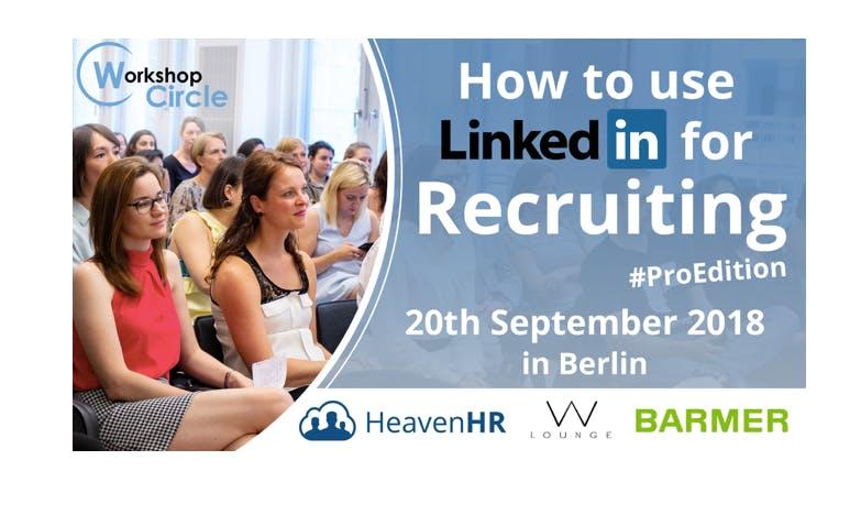 Workshop #1 BERLIN: Online Recruiting with Li