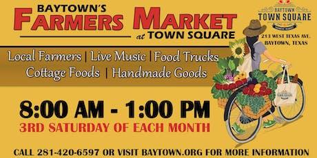 Baytown Farmers Market tickets