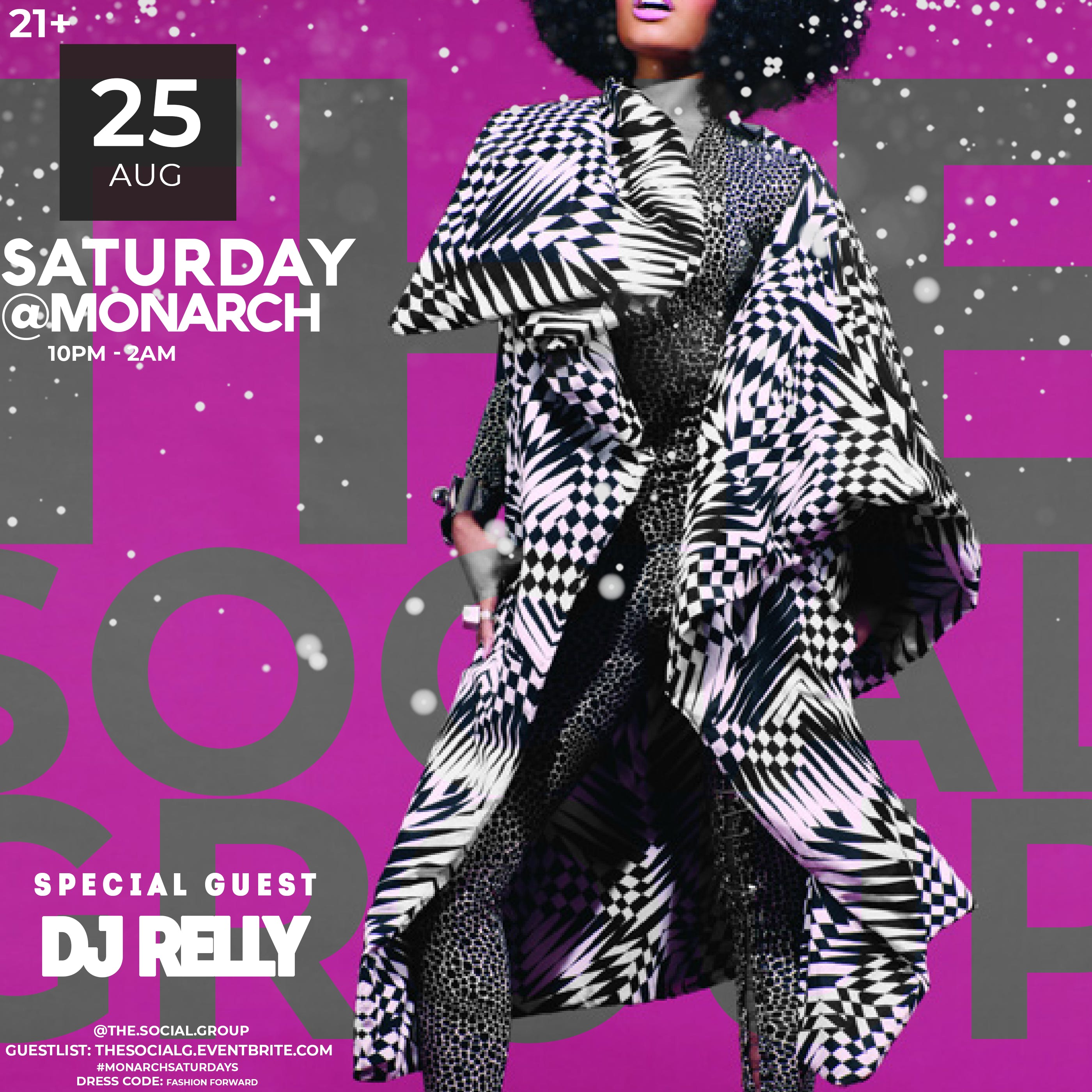 MONARCH SATURDAYS w/ SPECIAL GUEST {This Satu