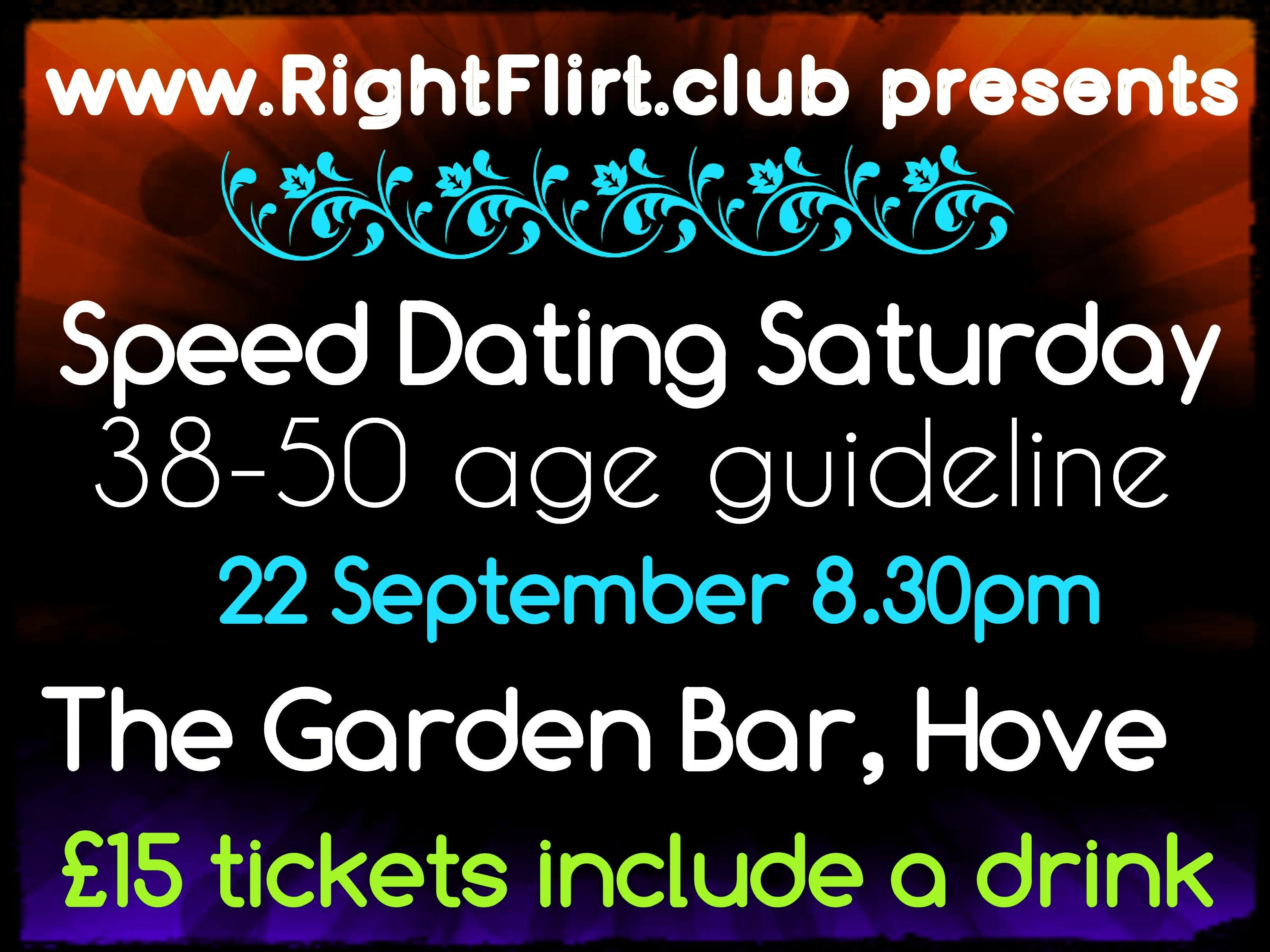 38-50 Speed Dating (Hove)