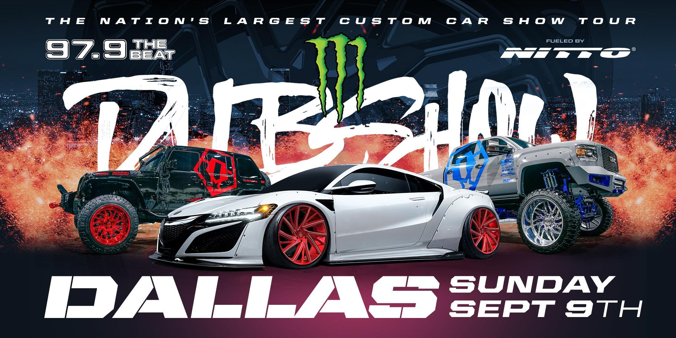 Dallas Monster Energy DUB SHOW Presented By The Beat - Dallas car show 2018