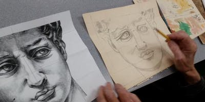 Adult Drawing Class At The Cliffside Park Library/