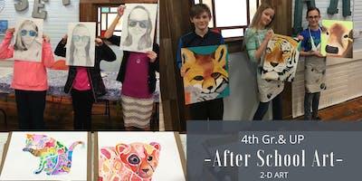 December   4th Gr. & Up After School Art   2-D: Printmaking
