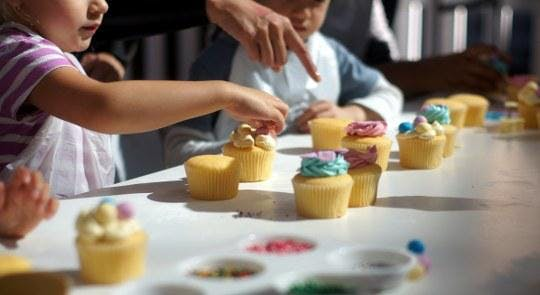 Cupcake Decorating Kids School Holiday Workshop 26 Sep 2018