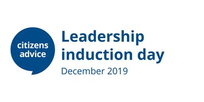 Leadership induction day - December 2019