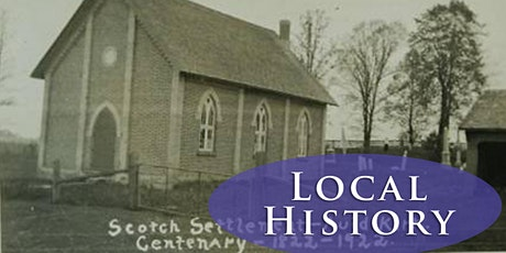 Local History Association tickets