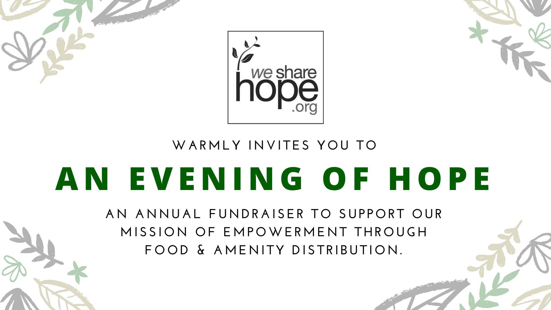 Hope & Main : An Evening of Hope