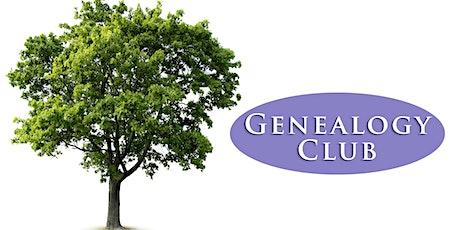 Genealogy Club tickets