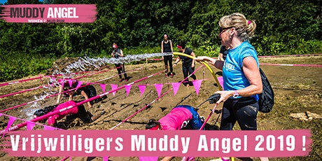 Vrijwilligers Muddy Angel Run 2019