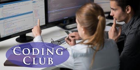 Coding Club tickets