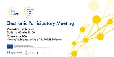 Electronic Participatory Meeting sull'economia collaborativa in Sicilia #EU_GIVE