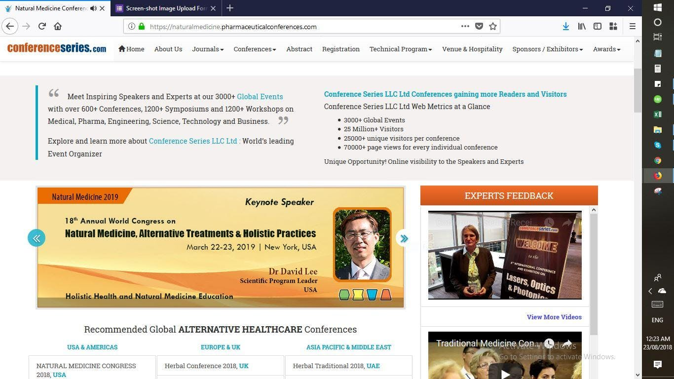 18th Annual World Congress on Natural Medicine, Alternative Treatments & Holistic Practices (CSE) A
