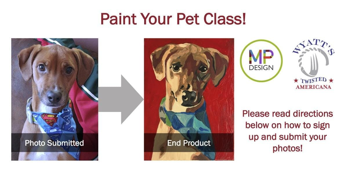 Paint Your Own Pet | Wyatt's Twisted American