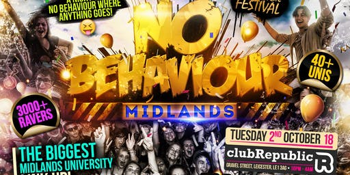Leicester united kingdom party events eventbrite no behaviour midlands malvernweather Gallery