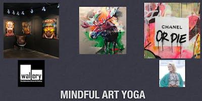 Mindful Art yoga @wallerygallery