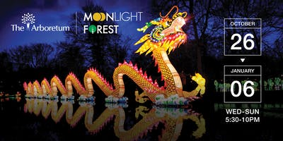 Moonlight Forest - Lantern Art Festival at the Los Angeles Arboretum | 2018