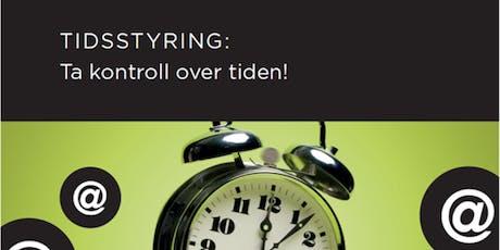 Salgsskolen - Tidsstyring: Ta kontroll over tiden! tickets