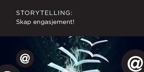 Salgsskolen - Storytelling: Skap engasjement! tickets